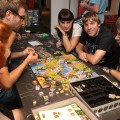 Various games at Liburnicon 2014.
