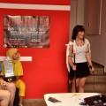 Princess Mononoke cosplay at Liburnicon 2014.