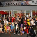 Group cosplay photo with Guests of Honor at Liburnicon 2014.