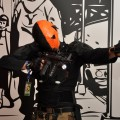 Deathstroke cosplay at Liburnicon 2014.