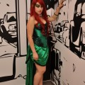 Poison Ivy cosplay at Liburnicon 2014.