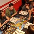Gaming room at Hostel Link at Liburnicon 2014.