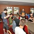 Gaming room at Liburnicon 2014.
